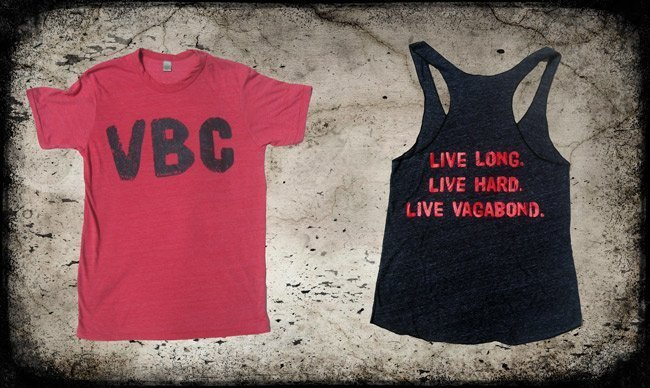 Screen printed alternative and royal apparel t-shirt and tank for CrossFit Vagabond Easton MA