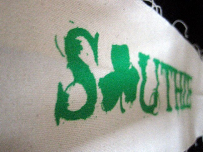 crossfit southie screen printed headband