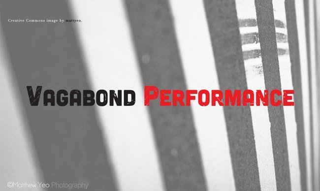 Vagabond CrossFit custom logo design