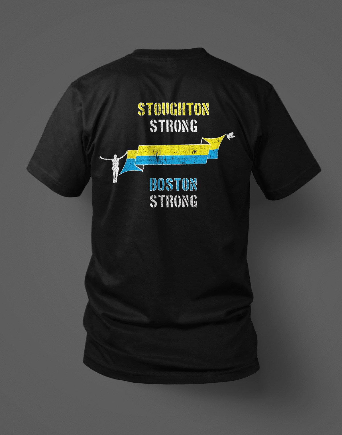 stoughton police department boston vintage t-shirt